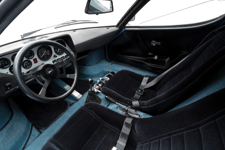 Interior of Lancia Stratos HF