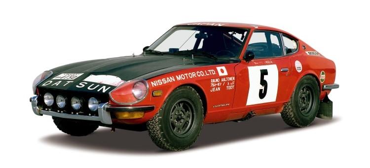 Datsun 240z Rally Monte Carlo 1972