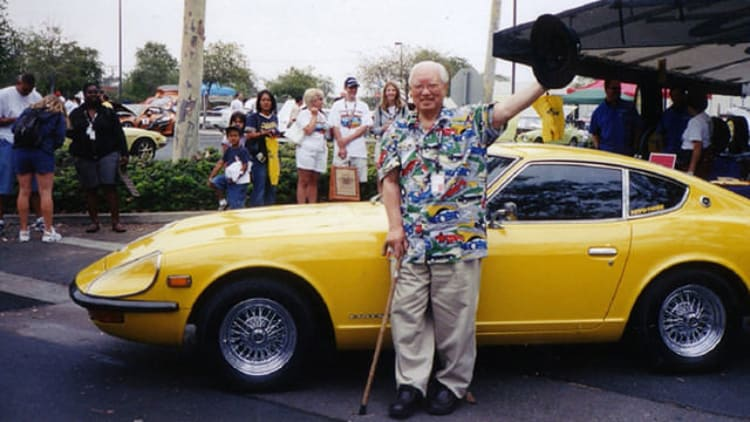 Katayama at  Z Car Fiesta in Los Angeles.