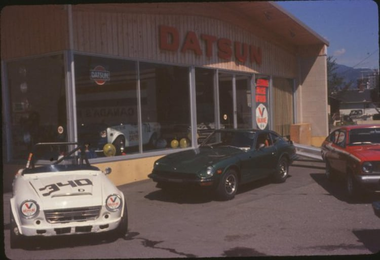 1970s Datsun Dealership