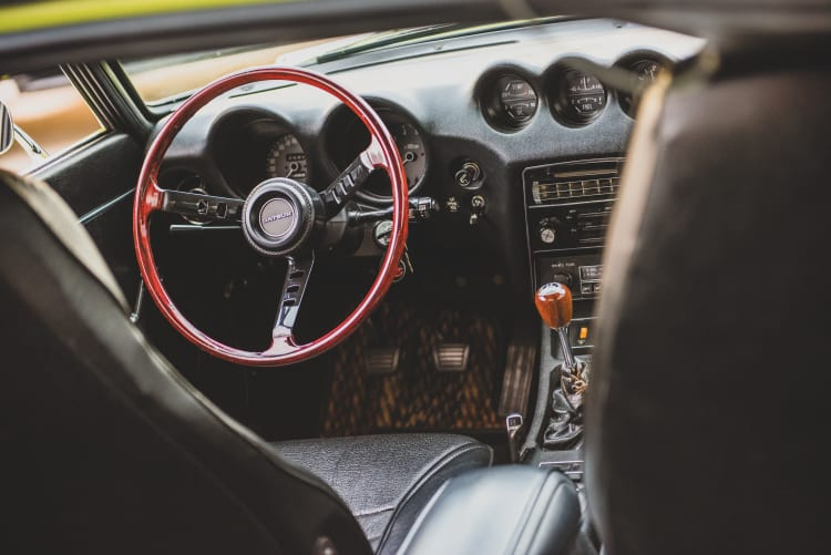 Timber steering wheel