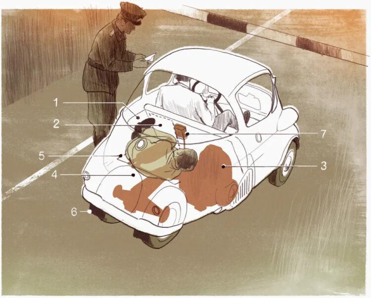 Modified BMW Isetta