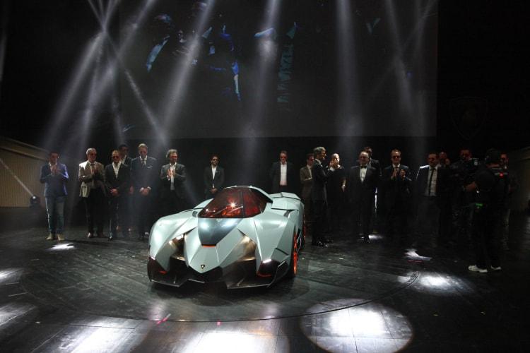 Lamborghini Egoista Unveiling