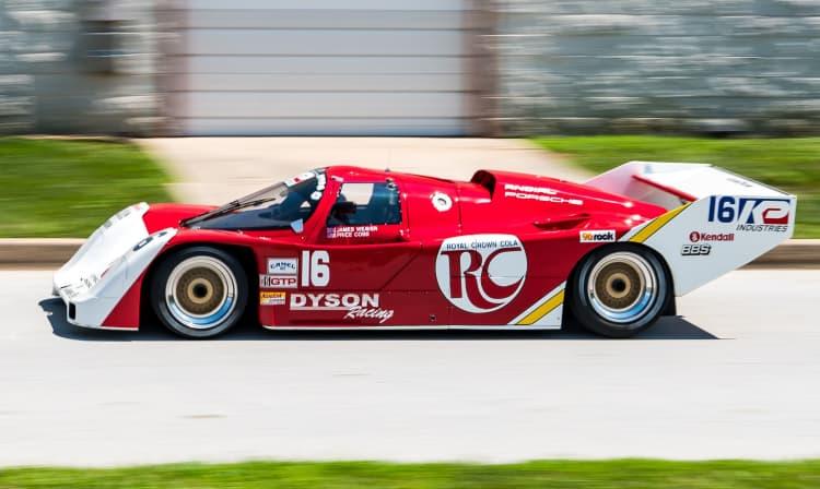 Side of Porsche 962