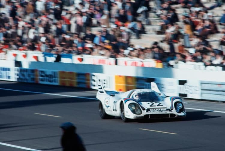 Winning Porsche 917 at 1971 Le Mans