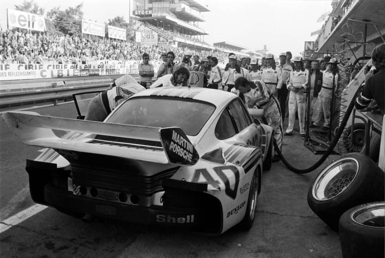 4th overall at the 1976  24 Hours of Le Mans
