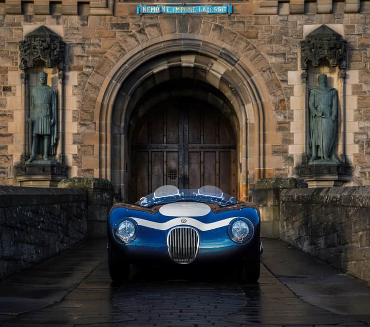 front of C-type