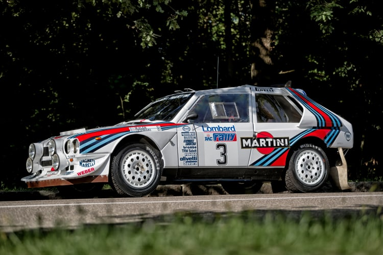 side of Lancia Delta S4