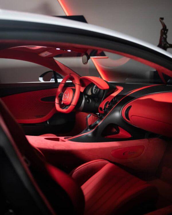 Interior of the Bugatti