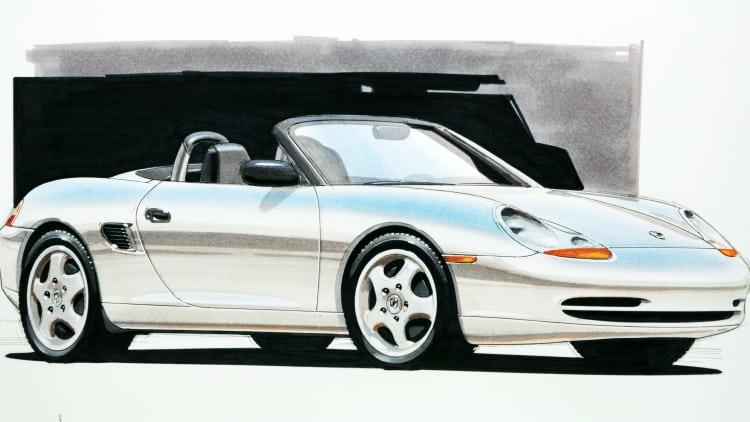 Porsche sketch
