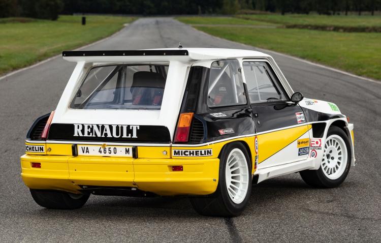 rear of 1985 Renault 5 Maxi Turbo