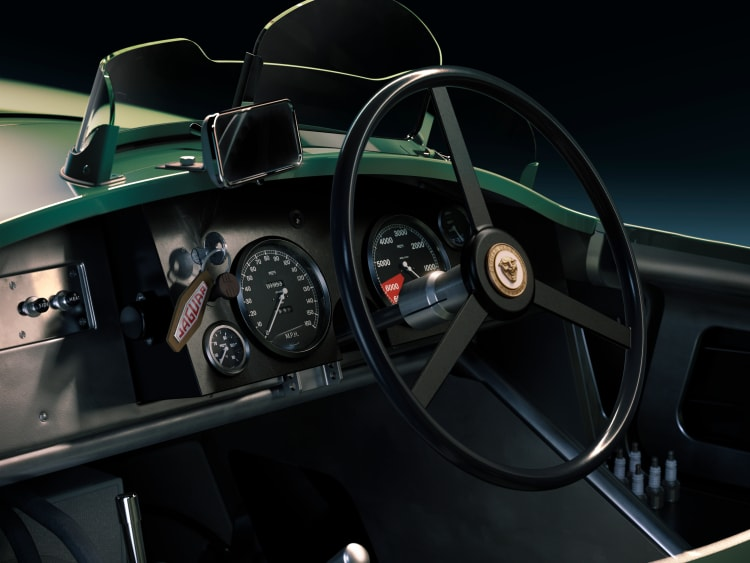 Steering wheel of C-Type
