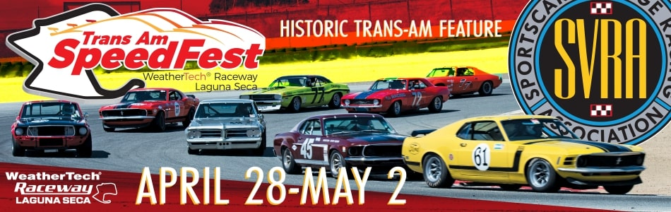 Historic Trans-Am (HTA) racers