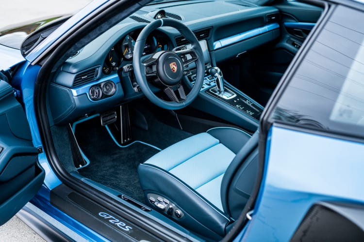 interior of 2018 Porsche 911 GT2 RS 'Weissach'