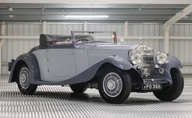1934 Rolls-Royce Phantom II Continental Drophead Coupe