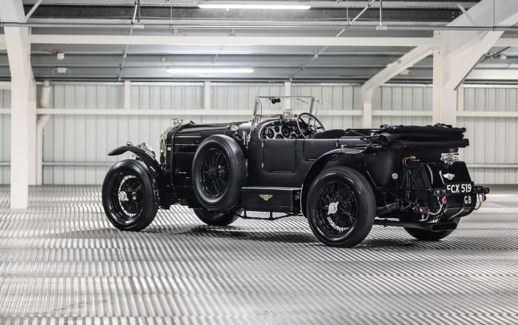 rear of 1950 Bentley B Special Speed 8