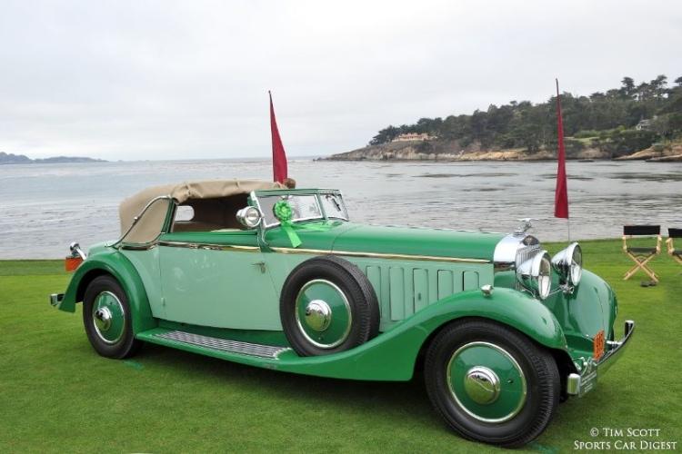 1934 Hispano-Suiza J12 Fernandez et Darrin Cabriolet