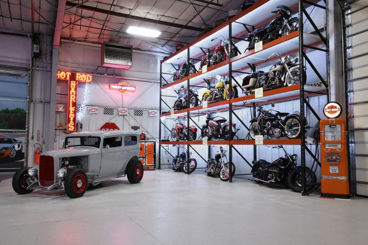 Motorbikes of Larry Winkler Collection