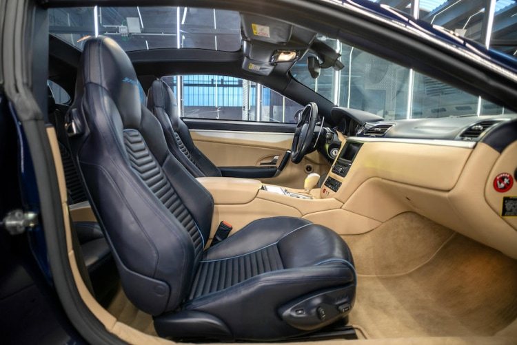 interior of 2017 Carrozzeria Touring Superleggera