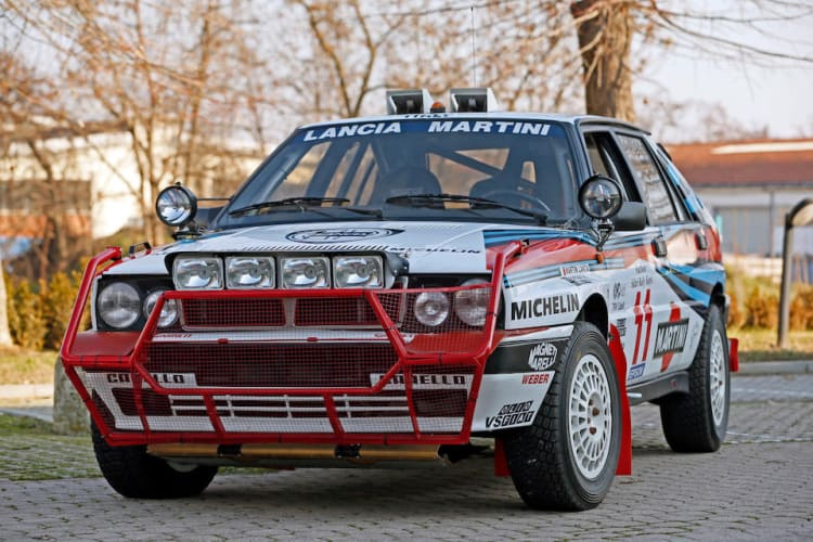 1988 Lancia Delta Integrale 8V Group A Rally Car