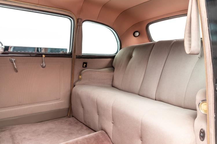 back seats of car