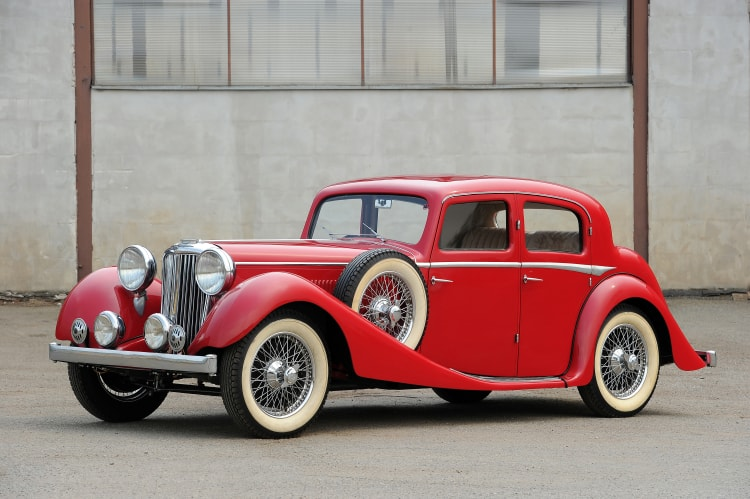 1937 Jaguar SS 2.5-Litre Sports Saloon