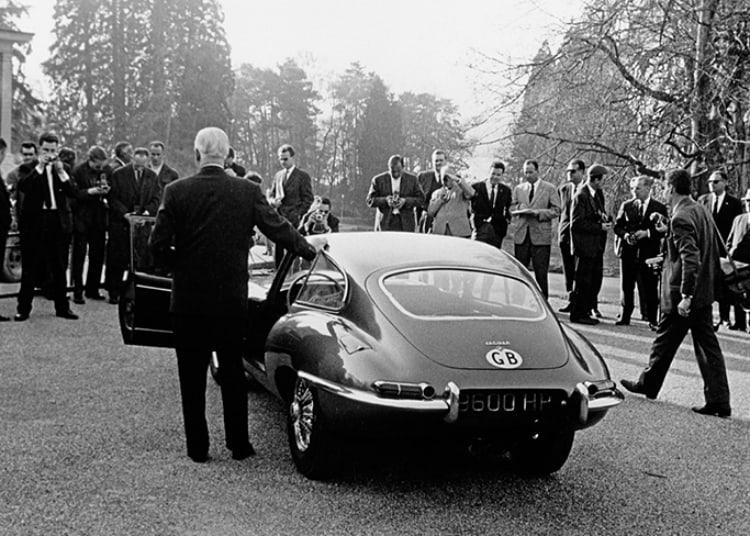 1961 Geneva Motor Show E-Type Jaguar