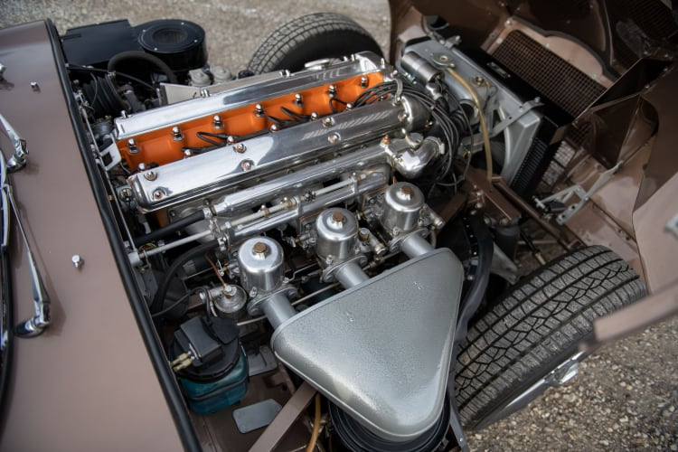 engine of series 1 E-Type