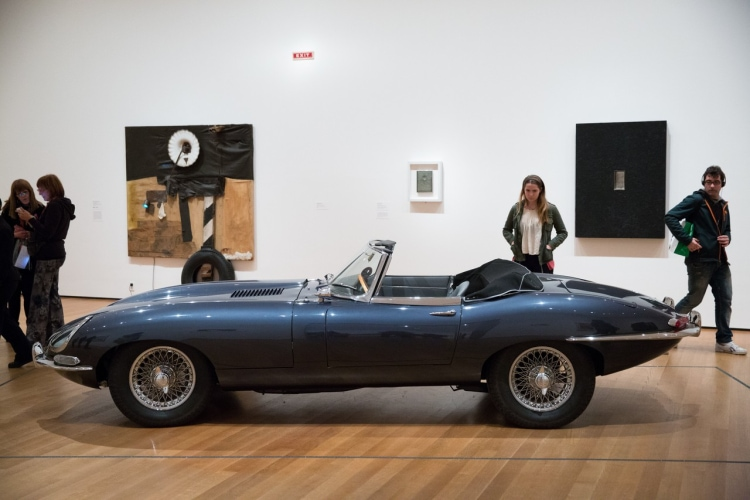 MoMA E-Type Jaguar