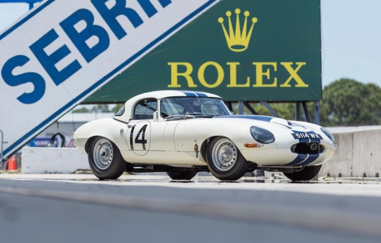 sale of Jaguar E-Type Lightweight