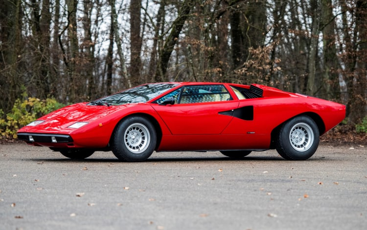 Lamborghini Countach LP400 Periscopio by Bertone