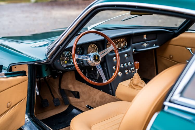 interior of 1967 Lamborghini 400 GT 2+2 by Touring