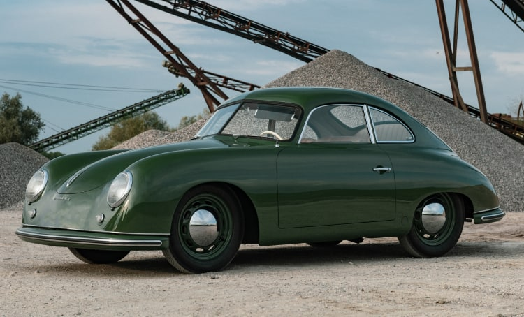 1952 Porsche 356 Coupe by Reutter