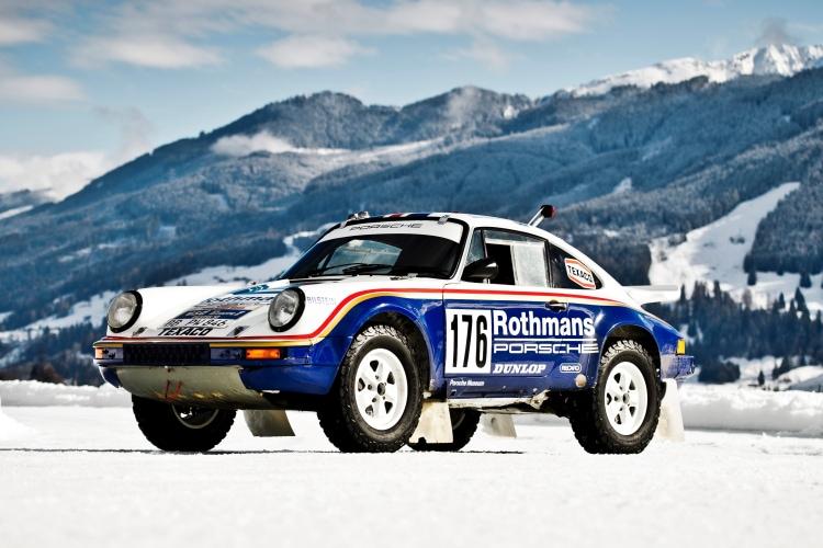 911 3.0 SC Rothmans Rally