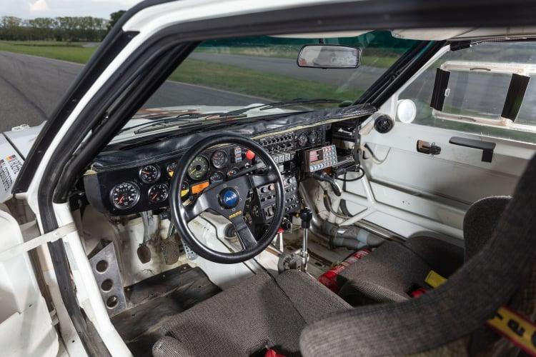 interior of 1988 Audi Sport Quattro S1