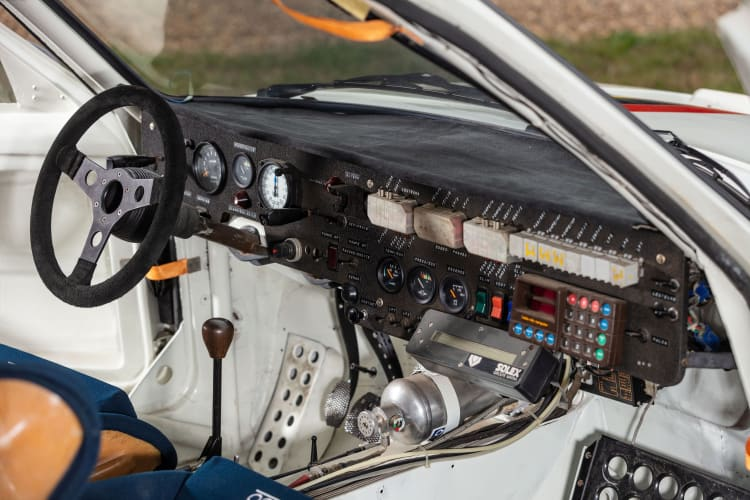 interior of 1985 Peugeot 205 Turbo 16 Evolution 2