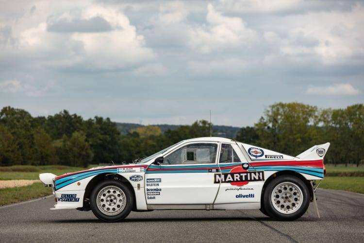 side of 1985 Lancia 037