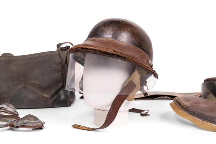 Herbert Johnson Racing Helmet Worn by Phil Hill