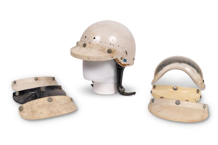Racing Helmet Worn by Phil Hill