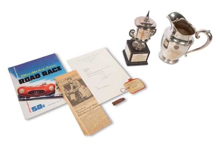 1955 Elkhart Lake's Road America Road Race Trophies