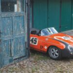 The Porsche 356 Speedster Uniting its Owner with a Veteran Racer