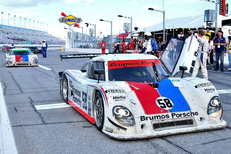 ROLEX 24 AT Daytona-Winning Porsche Riley