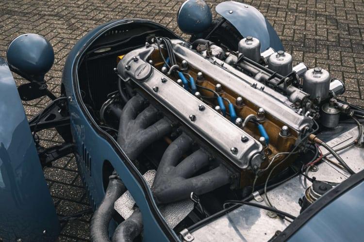 engine of 1950 HWM Alta Jaguar