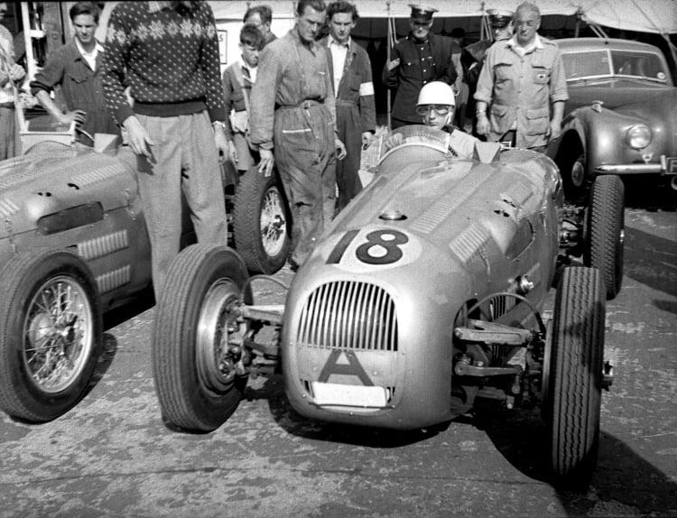 Historical photo of1950 HWM Alta Jaguar