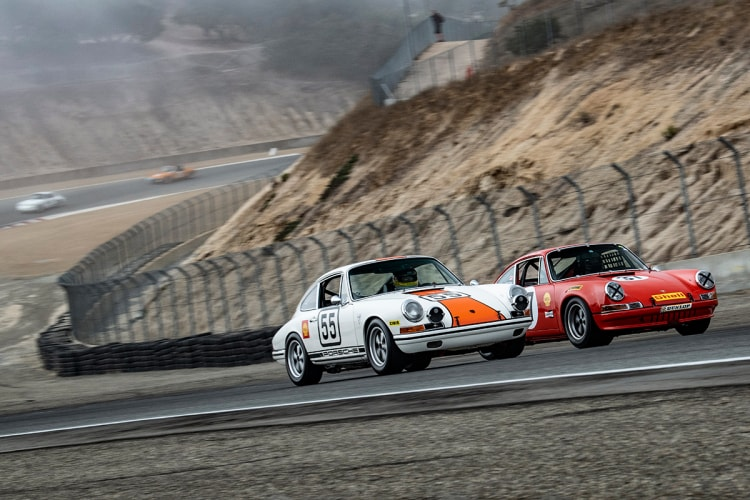 Two 911 Porsches
