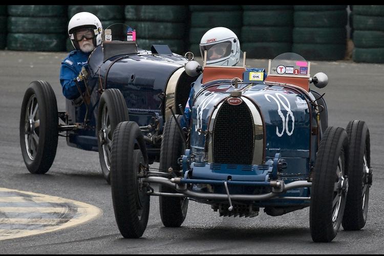 Two Bugattis