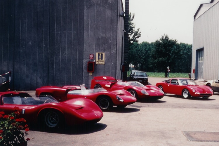 DeTomaso Factory in 1990