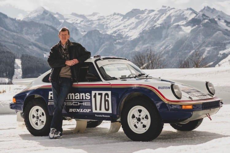 Walter Rohrl and Porsche 953