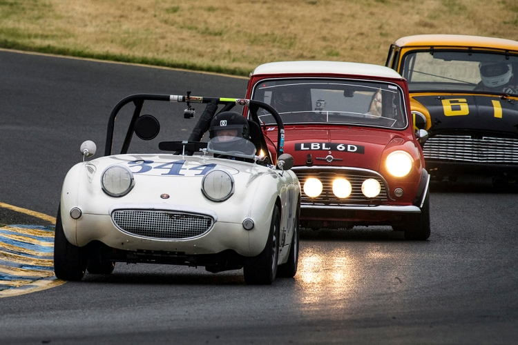 1959 Austin Healey Bug Eye Sprite