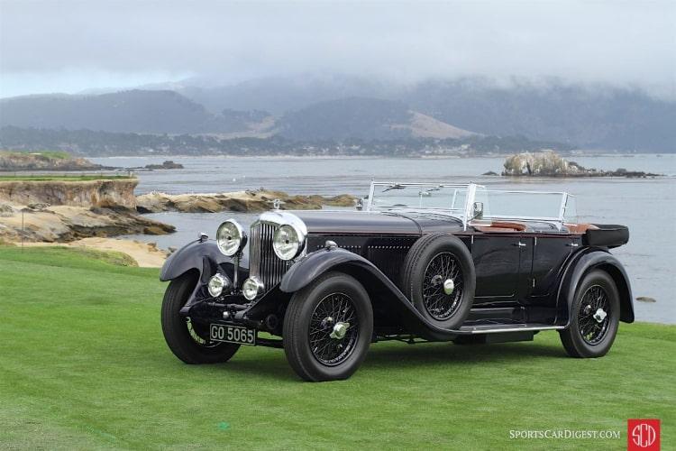 1931 Bentley 8 Litre Gurney Nutting Sports Tourer